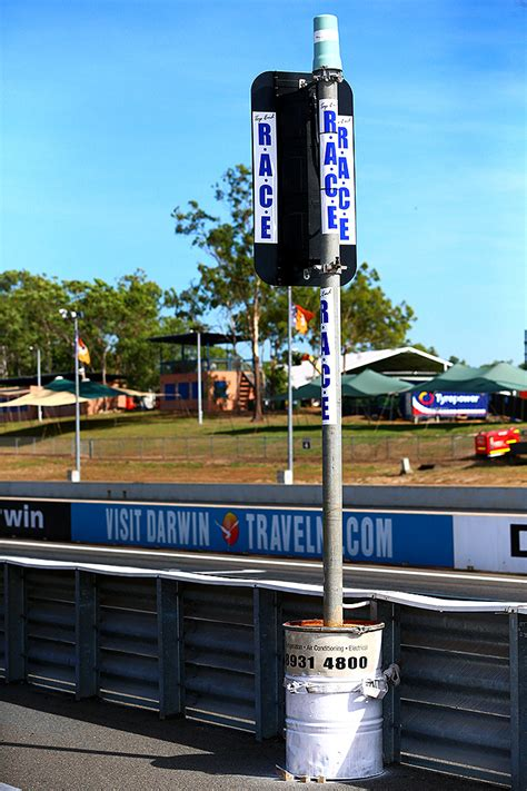 GALLERY: V8 Supercars set up at Darwin   Speedcafe