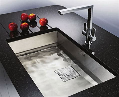 Design Of Kitchen Sink Deluxe Design Modern Square Kitchen Sinks Decosee