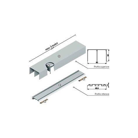 kit per porta scorrevole kit binario porta scorrevole spessore mm with kit binario