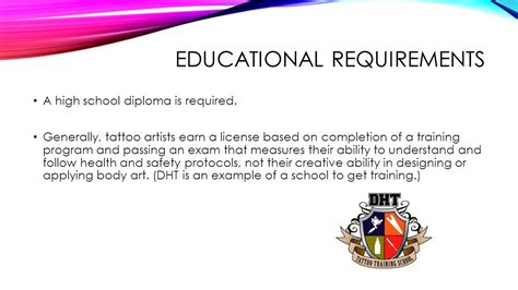 tattoo artist training artist ppt