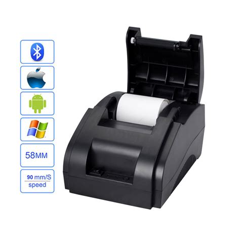 Printer Pos Bluetooth bluetooth receipt printer 58mm pos printer thermal printer