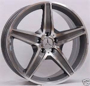 19 inch amg style polished wheels