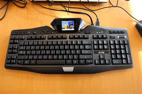 Keyboard Logitech G19 on with logitech s g19 keyboard and g35 headset maximum pc