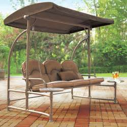 Outdoor Swing With Canopy by Outdoor Swing With Canopy Betterimprovement Com