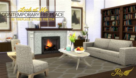 Sims Freeplay Fireplace by Simsational Designs Look At Me Fireplace Sims 4