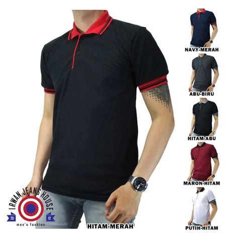 Kaos Distro Kombinasi kaos polo pria unisex polo shirt pria kombinasi baju