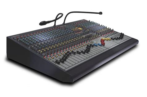 Mixer Allen Heath Gl 24 allen heath gl2400 424 live sound mixer