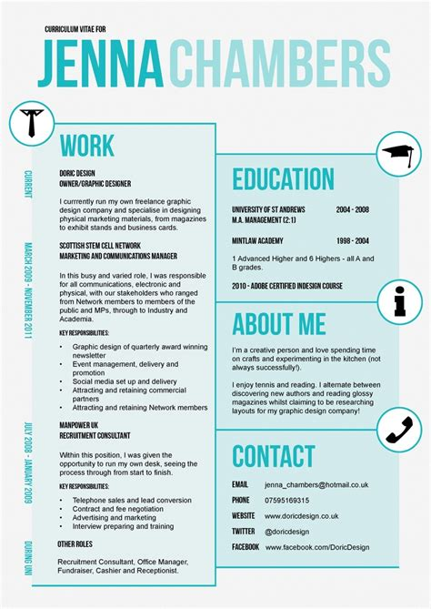 graphic design cv template uk 1000 images about stylish cvs on pinterest infographic