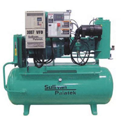 sullivan palatek 230 volt odp variable frequency drive vfd 30 hp air compressor