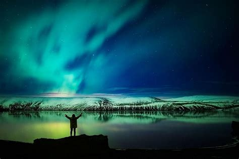 good place to see northern lights in iceland northern lights mystery tour reykjavik