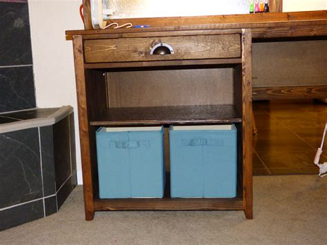 Diy Desk Hutch White Desk Hutch Diy Projects