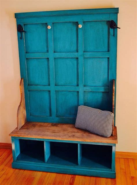 rustic hall tree bench rustic entry hall tree bench for entryway or mud room