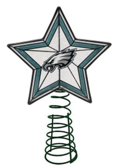 philadelphia eagles glass star tree topper i need to find