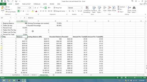 bitconnect lending spreadsheet binary options how to use trades won loss and compounding