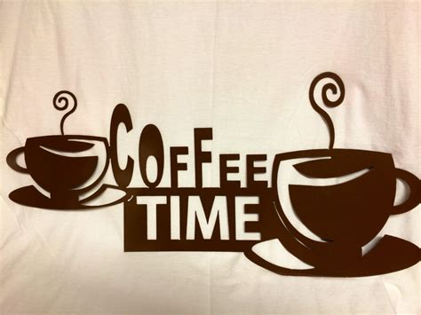 Coffee Signs Kitchen Decor by Coffee Decor Sign Kitchen Sign Cafe Sign Cnc Plasma Cut