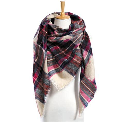 best scarf top quality winter scarf plaid scarf designer unisex