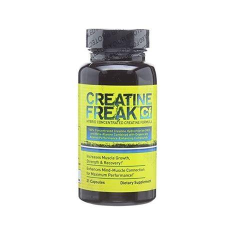 creatine w tabletkach 124 pln test freak creatine freak 120kap 21kap
