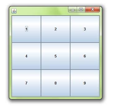 grid layout syntax java gridlayout javatpoint