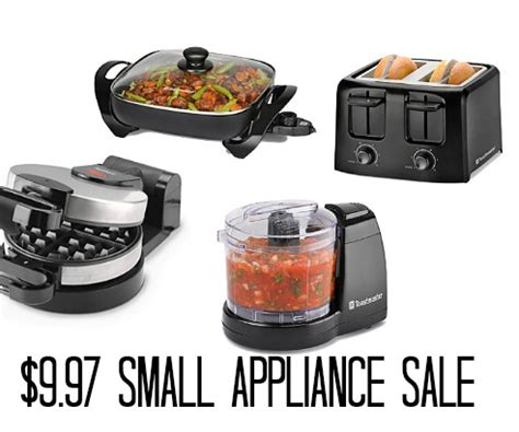 kohl s cardholders 5 small kitchen appliances 8 99 each appliances kohls and sale frugal focus