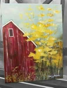 canvas barn barn canvas painting farm and barn canvas paintings