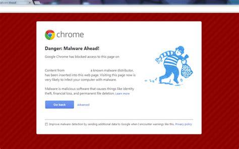 chrome virus image gallery malware alert