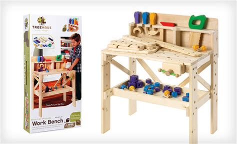 kids wooden tool bench wood treehaus carpentry bench for 69 shipped