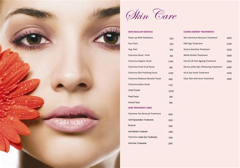 Skin Care welcome to charisma