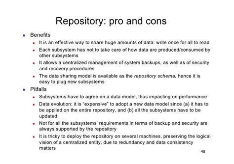 Repository Pattern Pros And Cons | 3