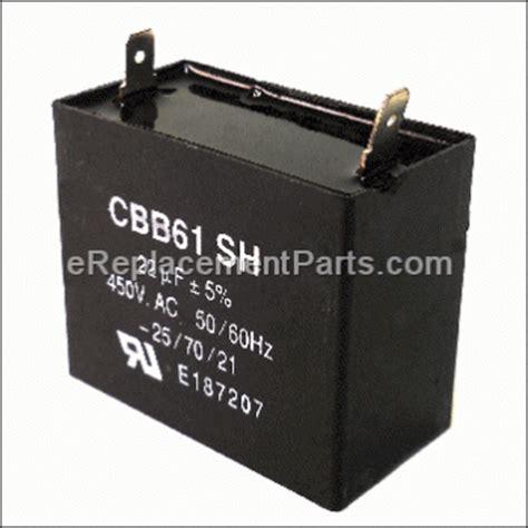 generator parts capacitor powermate pm0433500 parts list and diagram ereplacementparts