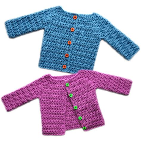 baby cardigan sweater classic baby cardigan sweater 5 sizes pdf by crochetspotpatterns