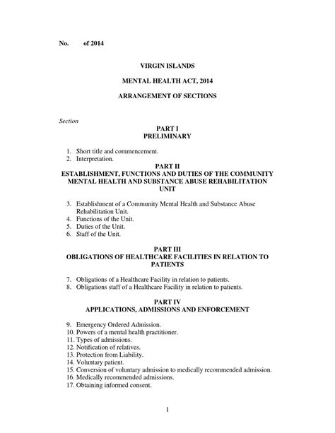 section 15 mental health act mental health act 2014 by bvi beacon issuu