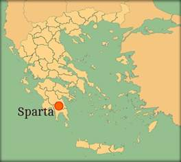 sparta map facts about sparta an ancient city state primary
