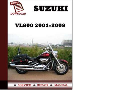 Suzuki Intruder 800 Service Manual Suzuki Vl800 Intruder Volusia 2001 2009 Repair Manual