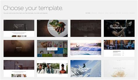 squarespace single page templates squarespace review 2016 top 10 things you should
