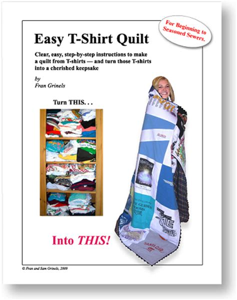 Directions For T Shirt Quilt by T Shirt Quilt