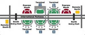 Dallas Airports Map by Image Gallery Dfw Parking