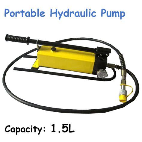 Manual Pompa Hydraulic Cp 700b toptan alım yapın taşınabilir hidrolik pompa 199 in