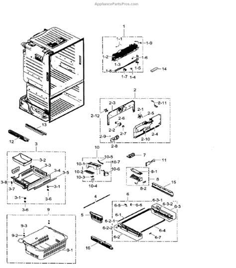 samsung refrigerator maker parts diagram samsung da97 07603b assy support maker a