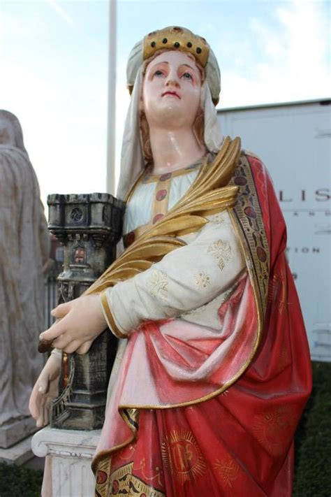 st barbara statue religious church statues  fluminalis