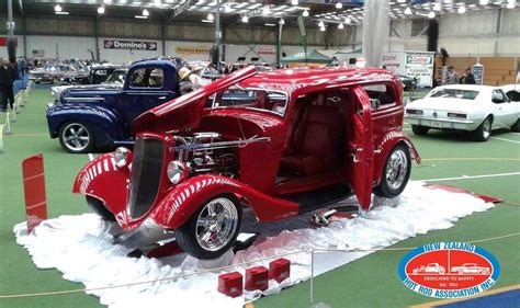 Ford 1956 Hotrod Machines Skala 1 64 protecta insurance 2014 nzhra national show