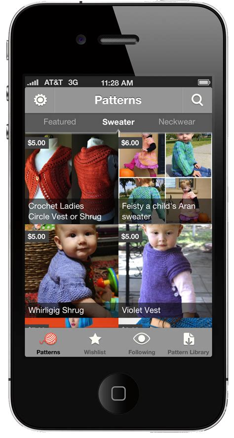 knitting app the free craftsy knitting and crochet patterns app