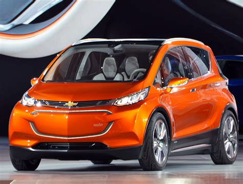 chevrolet mile of cars chevrolet unveils 30k bolt electric car with a 200 mile