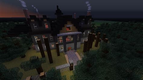 minecraft haunted house videos of minecraft haunted houses