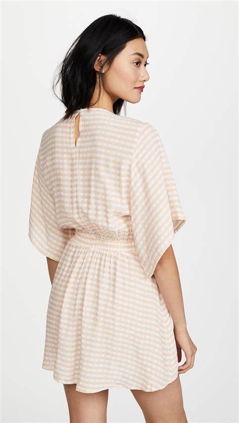 lyst faithfull the brand vinci dress in