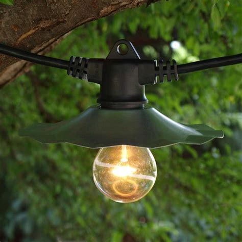 string lights backyard industrial string lights outdoor lighting and ceiling fans