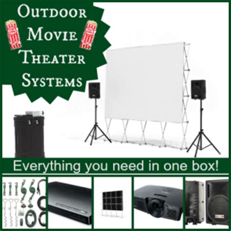 backyard theater systems outdoor movie theater system www pixshark com images