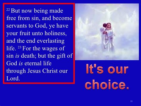 fruit unto holiness romans 6b our way leads to god s way is