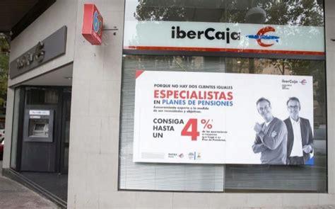 ibercaja plantea cerrar 160 oficinas un 13 de la - Oficina Ibercaja