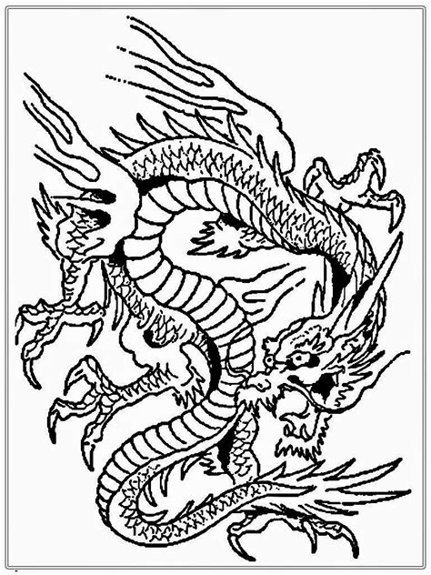 coloring pages of dragons for adults chinese dragon coloring pages coloringsuite com