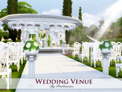 sims 4 wedding the sims resource wedding venue by praline sims sims 4